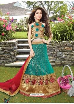 Beautiful Green Lehenga Choli
