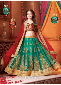 Astonishing Green Lehenga Choli