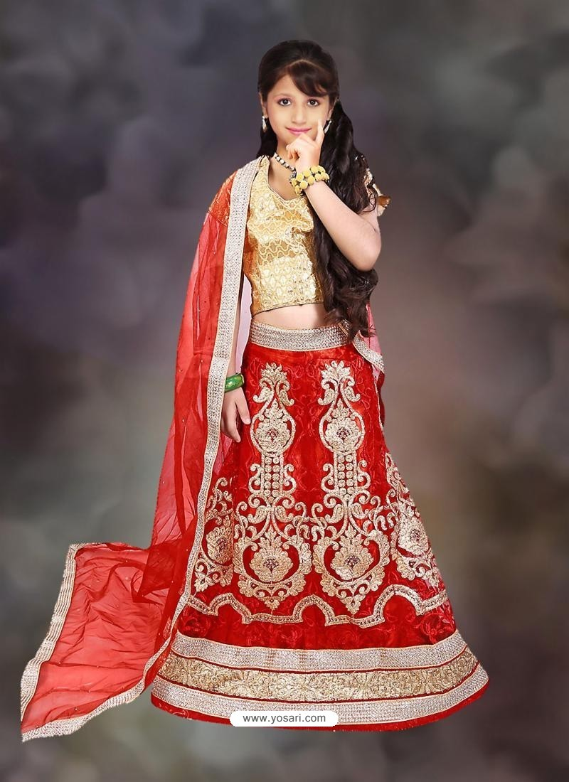 Classy Red Lehenga Choli
