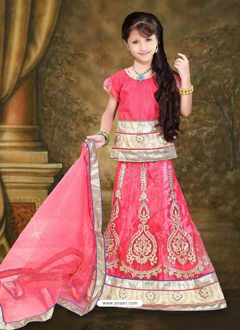 Astonishing Pink Lehenga Choli