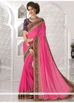 Desirable Zari Work Classic Designer Saree