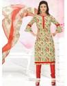 Modernistic Cotton Churidar Suit