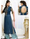 Blue Georgette Pakistani Suits