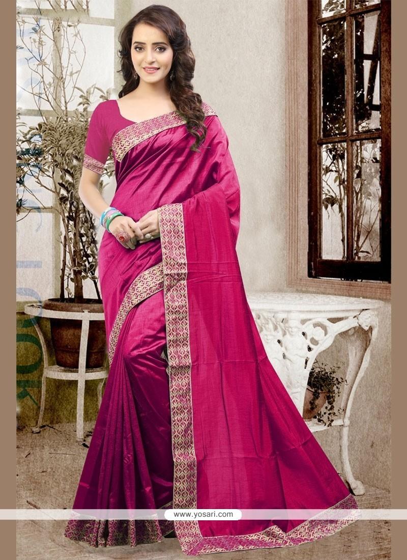 Pretty Art Silk Traditional Saree