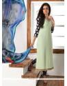 Striking Digital Print Work Faux Georgette Churidar Designer Suit