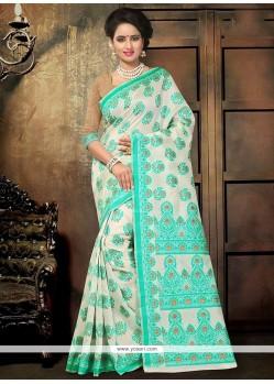 Desirable Cotton Printed Saree