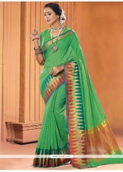 Fabulous Cotton Designer Saree