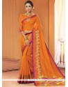 Imposing Lace Work Cotton Classic Saree