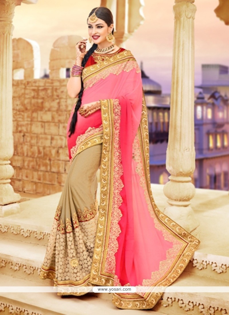 Enticing Shaded Saree For Wedding