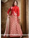 Imposing Resham Work Dupion Silk Lehenga Choli