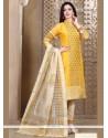 Staring Resham Work Churidar Designer Suit