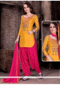 Pleasance Cotton Patiala Suit