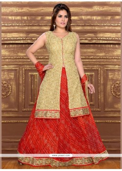 Praiseworthy Patch Border Work Lehenga Choli
