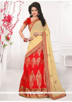 Astounding Banarasi Silk Embroidered Work Lehenga Choli