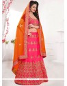Ethnic Stone Work Art Silk Lehenga Choli