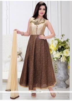 Aesthetic Fancy Fabric Readymade Anarkali Salwar Suit
