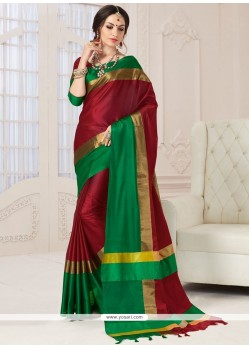 Demure Woven Work Designer Traditional Saree