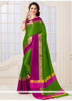 Splendid Woven Work Traditional Designer Saree
