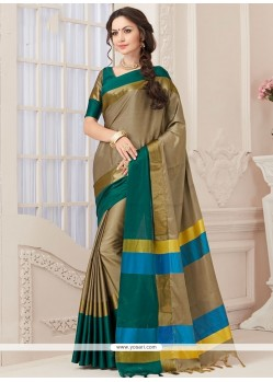 Delightsome Woven Work Designer Traditional Saree