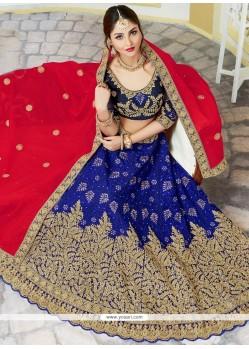 Aspiring Bhagalpuri Silk Lehenga Choli