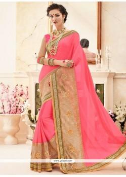 Scintillating Classic Designer Saree For Party