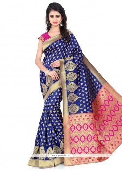 Dilettante Weaving Work Banarasi Silk Traditional Saree