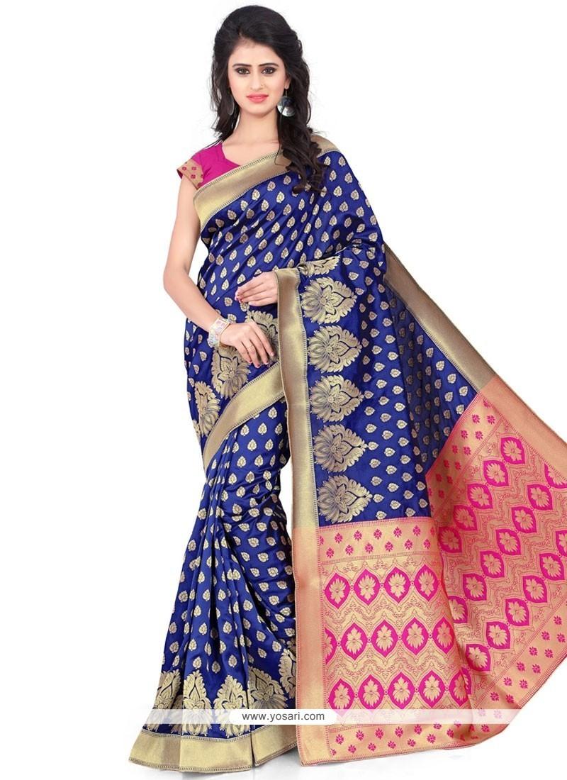 Dilettante Weaving Work Banarasi Silk Traditional Saree