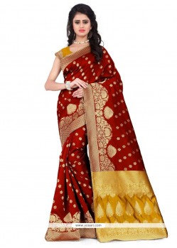 Prime Weaving Work Designer Traditional Saree
