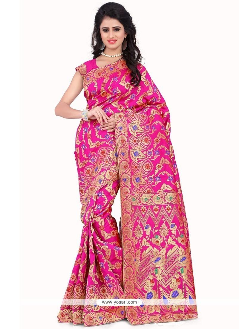 Beauteous Weaving Work Banarasi Silk Designer Traditional Saree