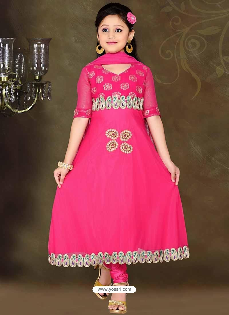 c872513b8 Buy Awesome Fuchsia Readymade Salwar Kameez