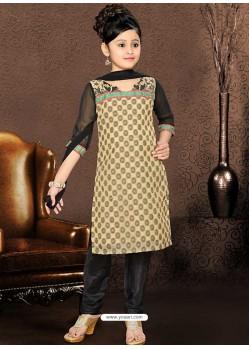 Royalist Black Embroidered Salwar Kameez