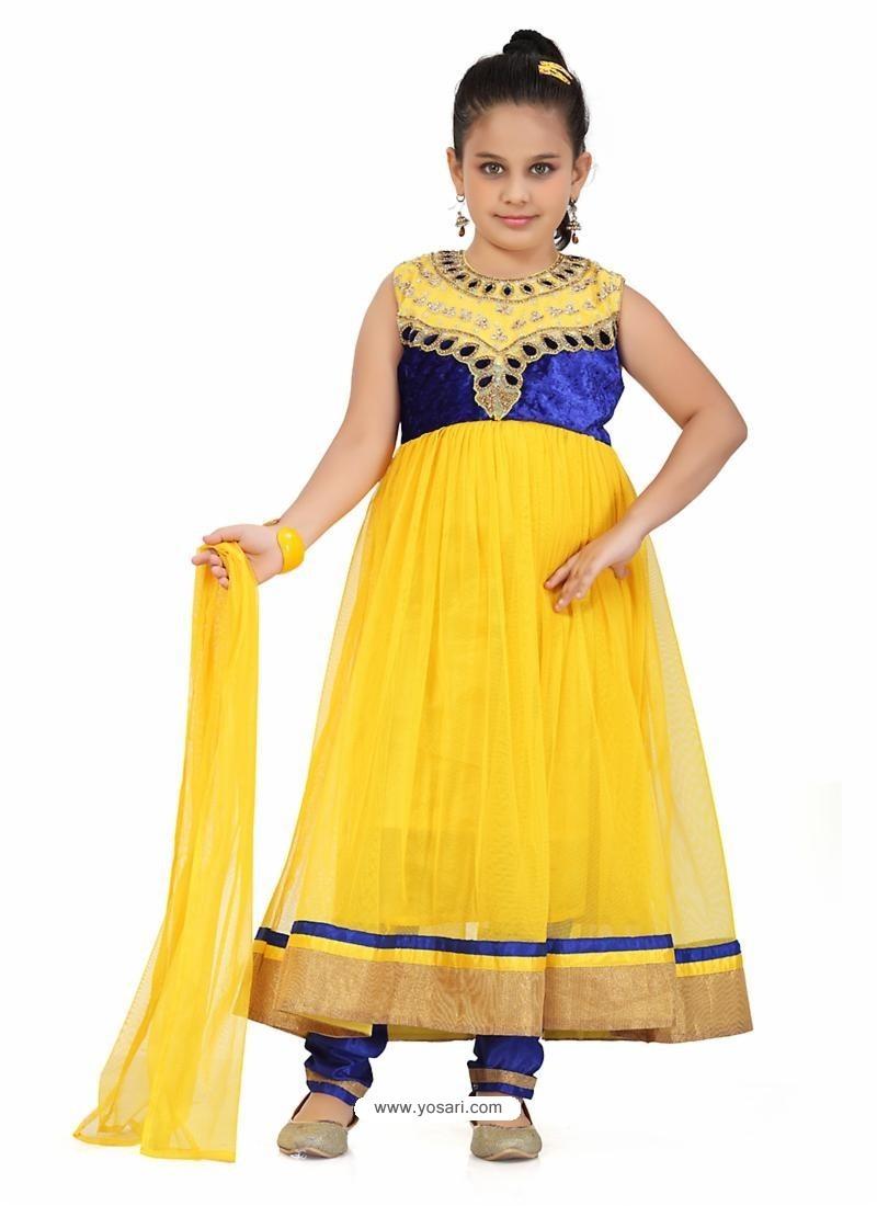 Royalist Blue Salwar Kameez