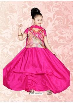 Attiring Pink Salwar Kameez