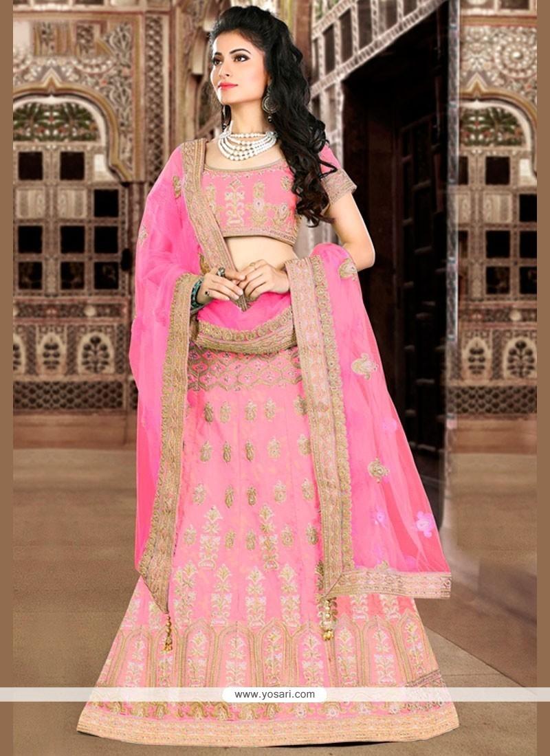 Prime Pink Lehenga Choli