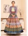 Gauhar Khan Satin Designer Floor Length Suit