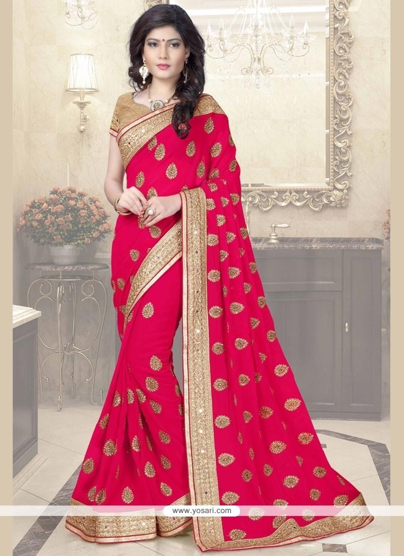 ab60ee4697 Buy Regal Mirror Work Classic Designer Saree | Wedding Sarees