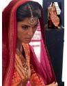 Peach Pure Georgette Punjabi Suits