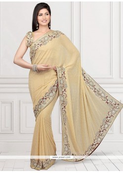 Perfect Faux Georgette Classic Designer Saree