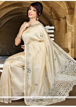 Blissful Cutdana Work Designer Traditional Saree
