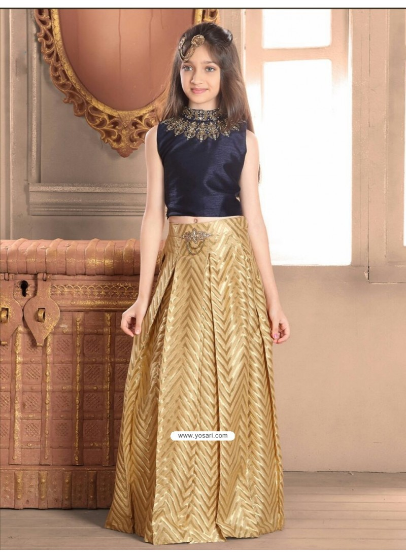 c2fb4bcff5 Crop Top And Skirt Indian Wedding Dress Online