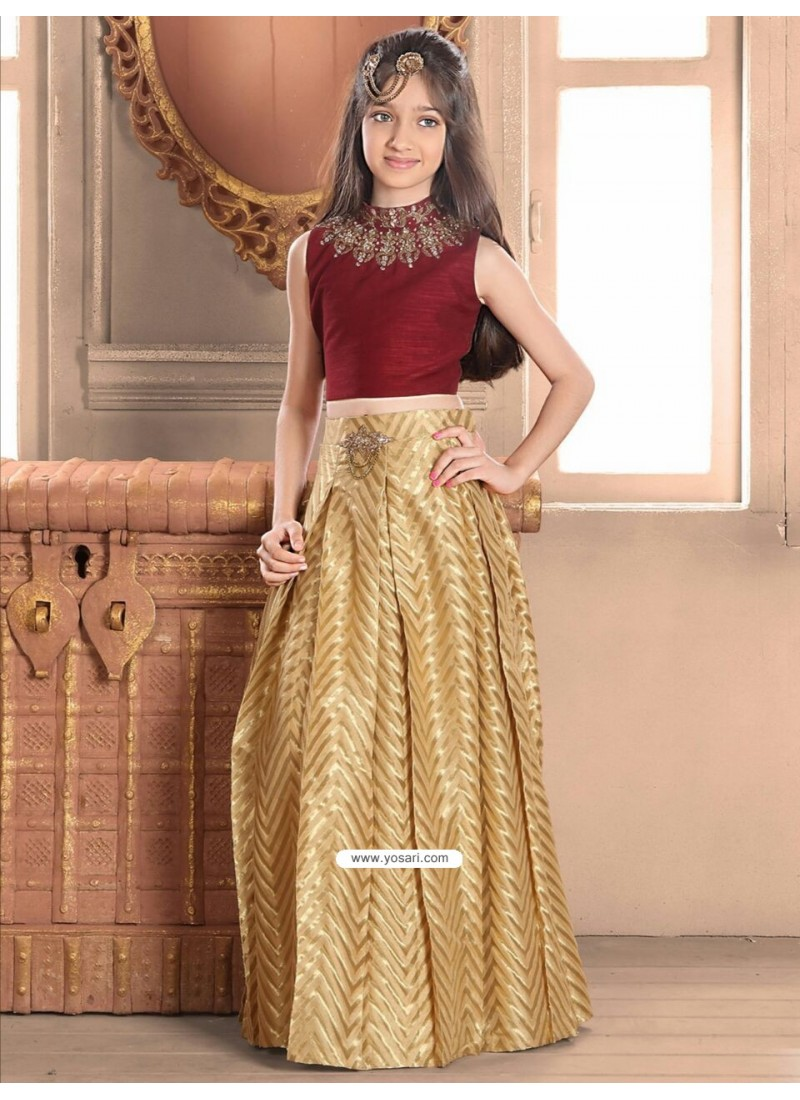 6b22d248554 Buy Demure Banglory Silk Blue Indo-Western Dress