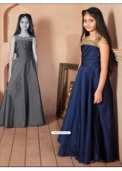 8f216346a4 Buy Gorgeous Red Taffeta Silk Dress | Indowestern Dresses For Girls