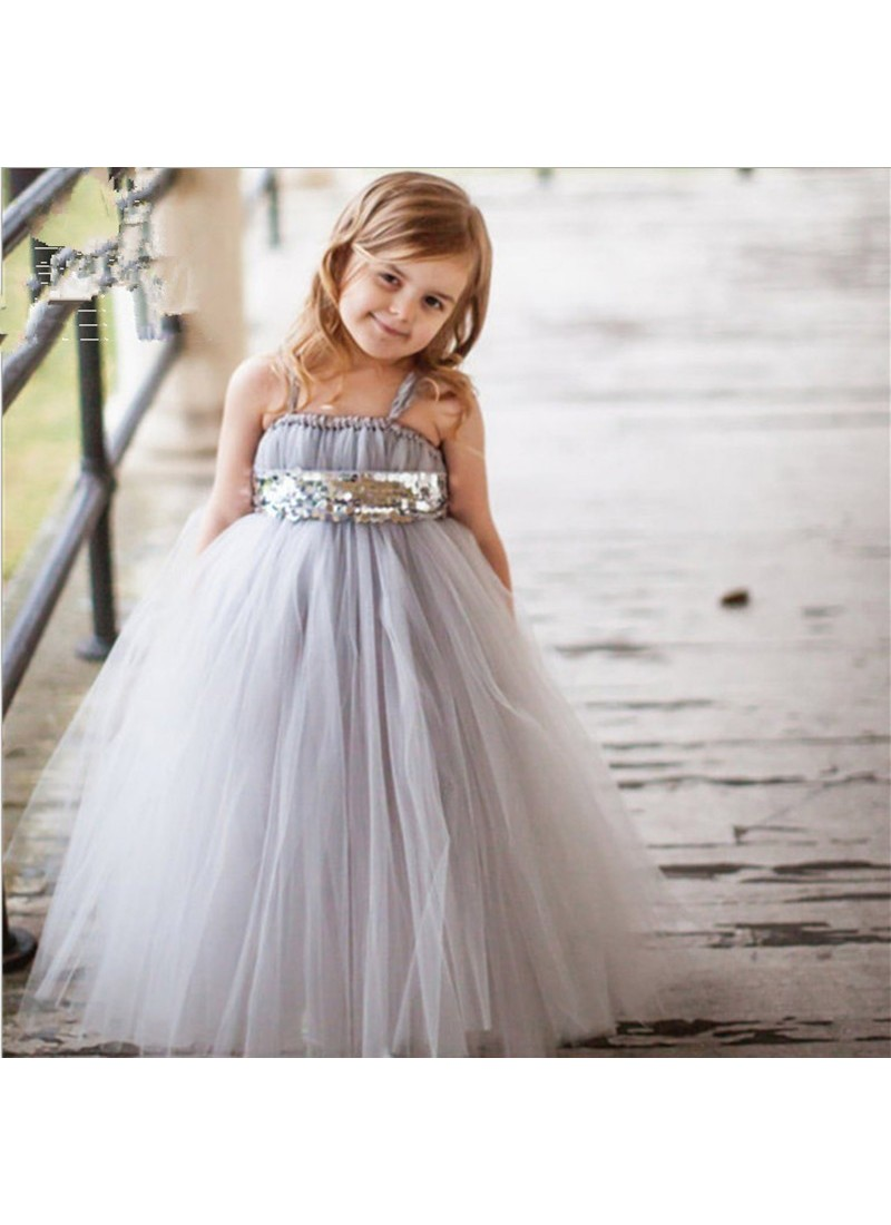 Buy Sizzling Grey Evening Gown | Gown For Girls