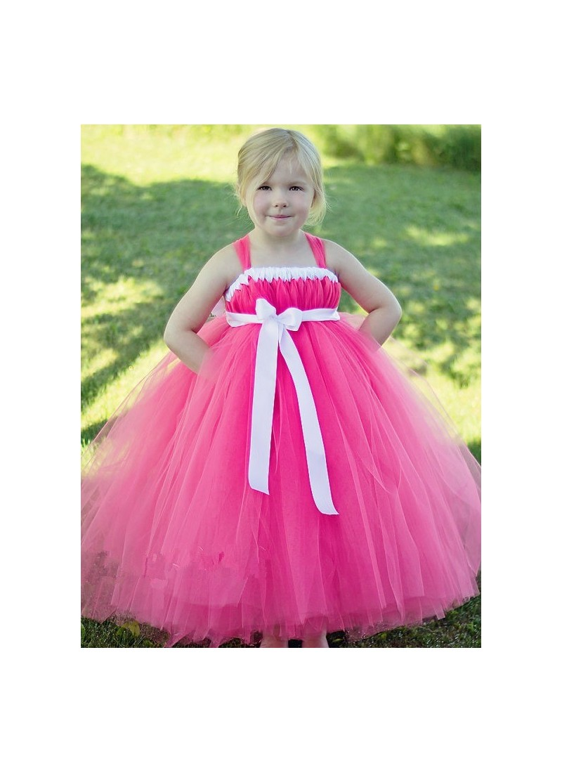 Buy Hot Pink Evening Gown | Gown For Girls