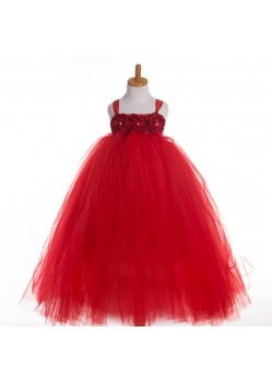 Blood Red Evening Gown