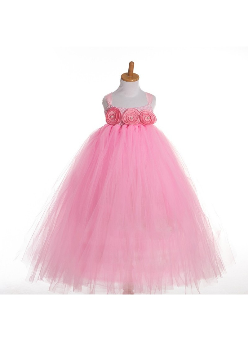 Buy Baby Pink Evening Gown | Gown For Girls