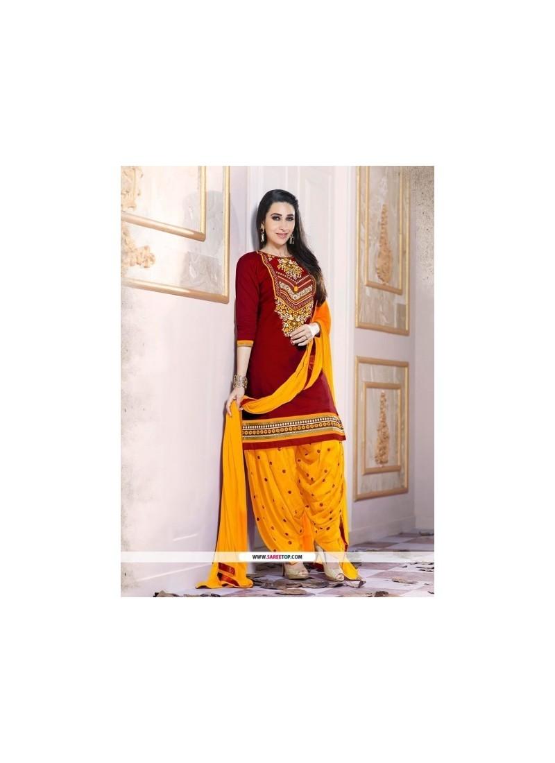 8d39d5c4e7 Shop online Karishma Kapoor Cotton Designer Patiala Suit