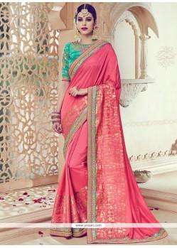 Masterly Art Silk Embroidered Work Traditional Saree