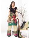 Multicolor Velvet,Jacquard Punjabi Suit