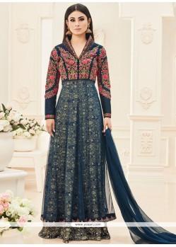 Mouni Roy Embroidered Work Floor Length Anarkali Suit